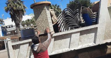 نائب محافظ القاهرة يقود حملة لإزالة الإشغالات والتعديات بالزاوية الحمراء