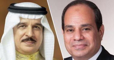 السيسى يهنئ عاهل البحرين بحلول عيد الفطر المبارك