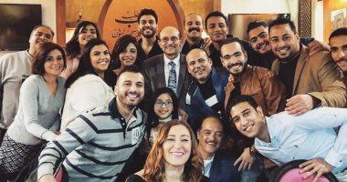 """فرقة """" استوديو الممثل """" تحتفل بعيد ميلاد الفنان محمد صبحى"""