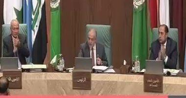بدء اجتماع الدورة العادية 153 لوزراء الخارجية العرب فى القاهرة