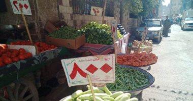 أسعار الخضروات اليوم.. وكيلو الطماطم من 2-4 جنيهات