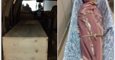 فيديو وصور..وصول جثمان قتيل فيلا نانسى عجرم إلى دمشق.. وبكاء والدته