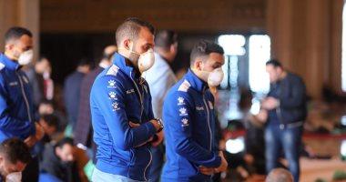 لاعبو المصرى البورسعيدى يجرون المسحة الأولى ضد كورونا اليوم
