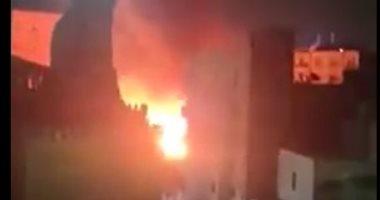 ضبط 3 لصوص سرقوا مدرسة بالجيزة وأشعلوا النار بها