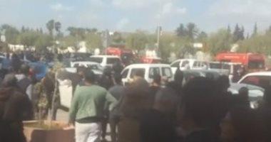 تشديدات أمنية حول فندق إقامة الزمالك بتونس بعد تفجير محيط السفارة الأمريكية  202003061254195419