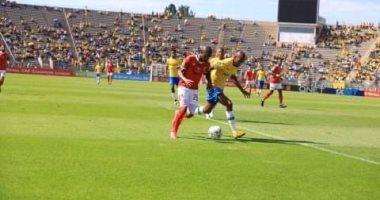 غياب  أجايي وجيرالدو عن مران الأهلي بجنوب أفريقيا بعد التأهل