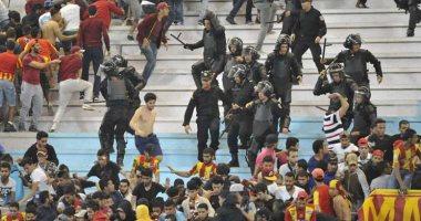تقارير تونسية: الشرطة تلقى القبض على 102 مشجع بعد شغب جماهير الترجى
