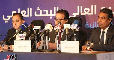 خالد عبد الغفار: منتدى التعليم العالمى يناقش أثار الثورة الصناعية على سوق العمل