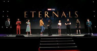 قبلة مثلية الجنس وراء سبب طلبات مقاطعة فيلم The Eternals لشركة مارفل الجديد