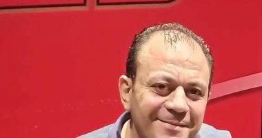 تشييع جنازة هانى توفيق مشرف أمن قناة الأهلى بعد مصرعه فى حادث