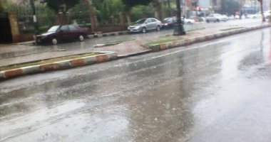 أمطار غزيرة اليوم بالسواحل الشمالية خفيفة على القاهرة.. والعظمى 28 درجة