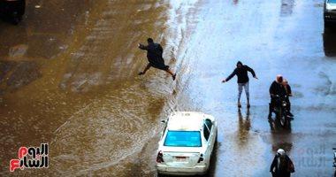 """هطول أمطار فى السعودية والدفاع المدنى بـ""""جازان"""" يحذر من التقلبات الجوية"""
