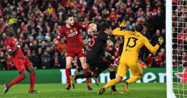 """ليفربول ضد أتلتيكو مدريد.. الروخي بلانكوس يقلب الطاولة بهدف ثان """"فيديو"""""""