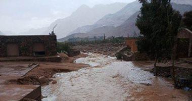 التجهيز لتنفيذ منظومة حماية أبورديس بجنوب سيناء من السيول
