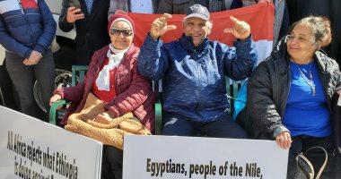 المصريون فى أمريكا يحتشدون اليوم أمام البيت الأبيض للتضامن مع حق مصر فى قضية سد النهضة