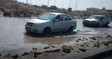سيول ومنازل منهارة.. قرية الديسمي بالجيزة تستغيث.. فيديو