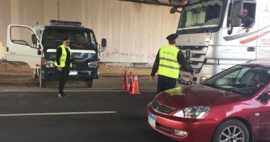 المرور: غلق جزئى لشارع الهرم لمدة 3 أيام بسبب أعمال نقل مرافق المترو