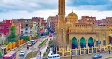 قارئ يشارك بصورة مميزة لمسجد وسط الأمطار بقليوب