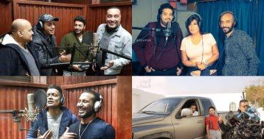 11 دويتو غنائى ينتظرها الجمهور أبرزها لـ تامر حسنى وفاطمة عيد وسعد مع شاكوش