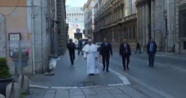 بابا الفاتيكان يقرر وقف النشاطات القضائية بسبب فيروس كورونا