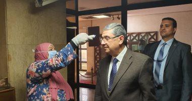 """شاكر: تحويل مستشفى الكهرباء لـ""""حجر صحى"""" يتطلب موافقة وزارة الصحة"""