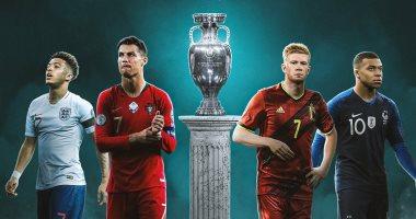 """يورو 2020.. الجدول الكامل لمواعيد مباريات مرحلة المجموعات بأمم أوروبا """"إنفو"""""""