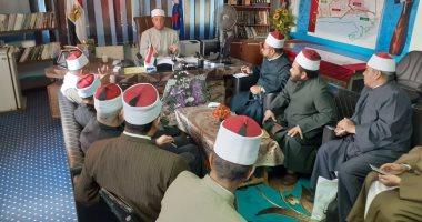 وكيل وزارة الأوقاف بالسويس: تعليق الاحتفالات وعقد القران والعزاء فى المساجد