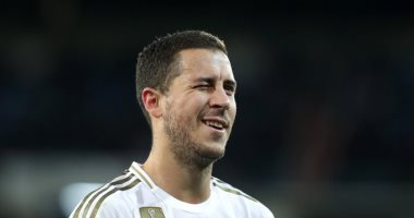 مدرب بلجيكا: هازارد يمكنه الفوز بالكرة الذهبية مع ريال مدريد