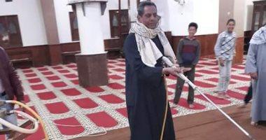 """صور.. تطهير وتعقيم المساجد فى شرم الشيخ لمواجهة """"كورونا"""""""