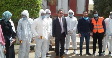إجراءات جامعة أسوان للوقاية من فيروس كورونا المستجد