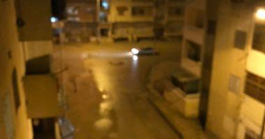 هطول أمطار متوسطة بمختلف أنحاء شمال سيناء