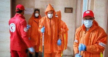 التضامن: تعقيم المناطق المتضررة من الطقس السيئ للوقاية من فيروس الكورونا