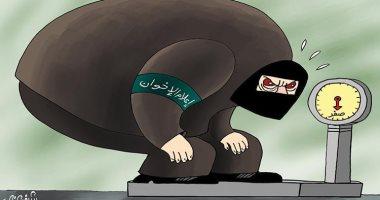 كاريكاتير صحيفة إماراتية.. إعلام الإخوان ضجيج بلا طحين