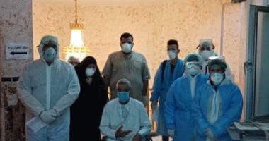 مستشفى إسنا للعزل الصحى تعلن خروج 4 حالات شفاء من فيروس كورونا