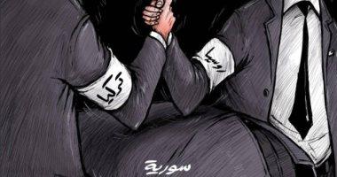 كاريكاتير صحيفة إماراتية.. روسيا تحاول دحر العدوان التركى على سوريا