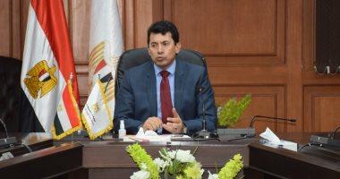 وزير الرياضة يجتمع مع اللجنة العليا لمراكز الشباب لمواجهة كورونا