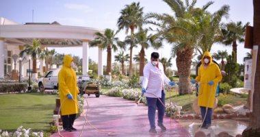 صور.. محافظة جنوب سيناء تستكمل تطهير الفنادق والمنشآت السياحية