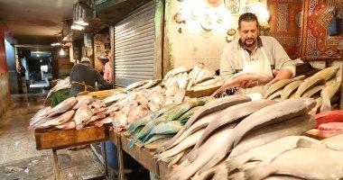أسعار السمك اليوم الجمعة 27-3-2020 بسوق العبور