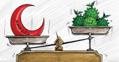 كاريكاتير صحيفة كويتية.. الإجراءات الإحترازية للتصدى لتفشى كورونا