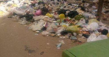 شكوى من انتشار القمامة بشارع عادل الرفاعي في المحلة الكبرى