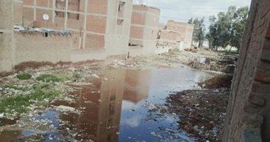 قارىء يشكو من غرق قرية كفر حجازى بالغربية فى مياه الصرف الصحى