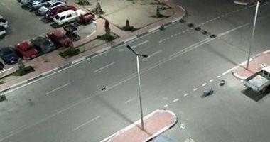 من البلكونة.. قارئ يرصد حظر التجول فى كرموز بالاسكندرية