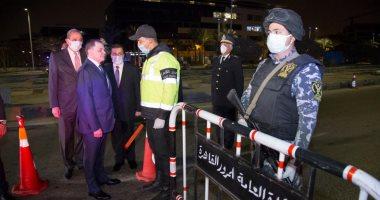 المواطنون يلتزمون بحظر التجول.. ووزير الداخلية يتفقد الخدمات الأمنية