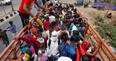 اجراءات فرض الحظر فى الهند بسبب كورونا