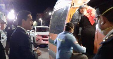 مدير أمن الوادي الجديد يوفر سيارة لنقل سيدة مريضة فى وقت الحظر