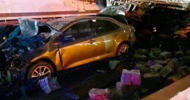 مصدر أمني: حصيلة حادث الدائرى الإقليمى بالجيزة 17 متوفيا و15 مصابا