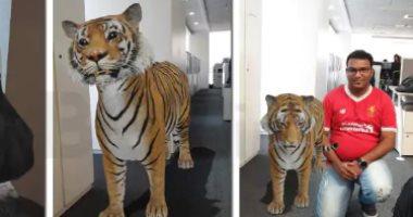 حديقة حيوان فى بيتك.. صور ولادك مع الحيوانات من منزلك 3D بهذه الخطوات