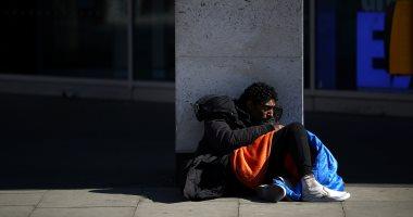 مشردو لندن عالقون فى الشوارع مع إغلاق المدينة بسبب تفشى وباء كورونا