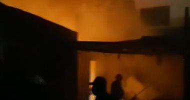 """""""شرارة حديد"""" تشعل حريق داخل مقر نادى الزمالك"""