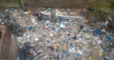 شكوى من انتشار القمامة فى شارع ادريس بالمندرة البحرية بالاسكندرية